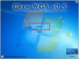 "Run CW.exe and press ""Apply"""