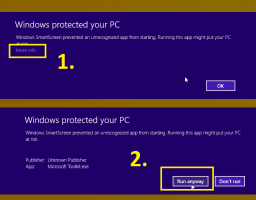 Windows 8.1 Smart Screen for Microsoft Toolkit