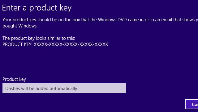 windows 8.1 pro installation key