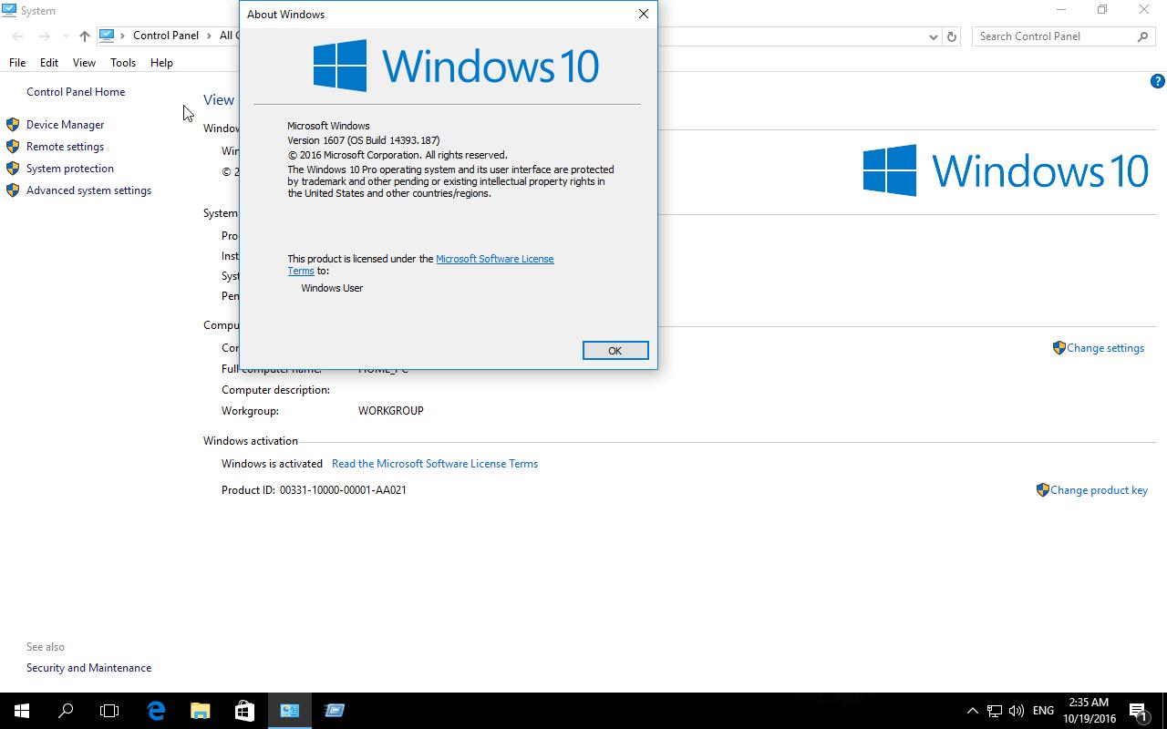 Activator Windows 10 Professional - KMS-Auto Activation