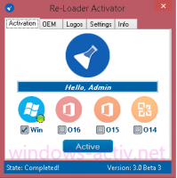 reloader activation for windows-8.1