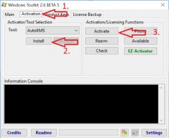 Microsoft Toolkit to activate Windows 10